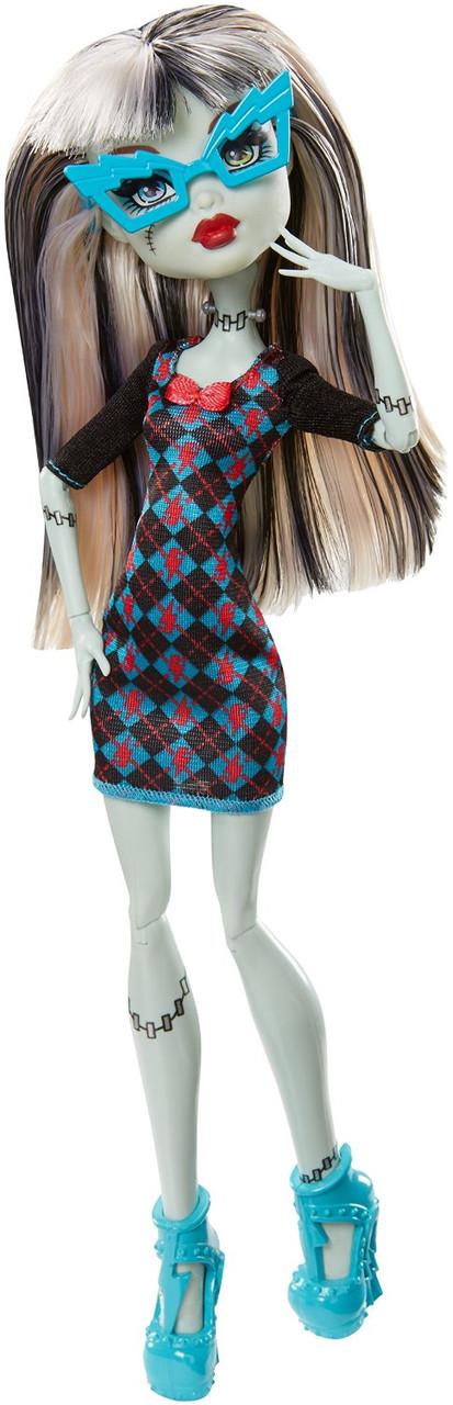 Кукла Фрэнки Штейн Крик Гиков (Monster High Geek Shriek Frankie Stein Doll)