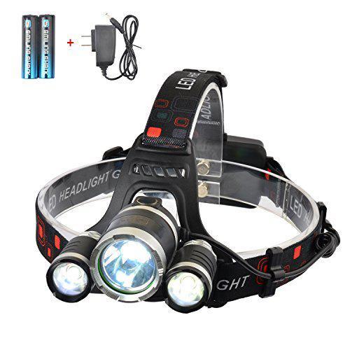 Налобный LED фонарик  SMILING SHARK 5000 Lumen