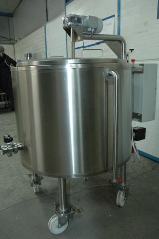 Сыроварня на 300 литров Польша / Варочный котел-сыроварня / пастеризатор для производства сыра новая