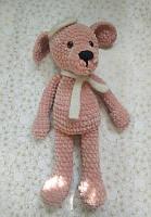 Мягкая вязанная игрушка Собака, фото 1