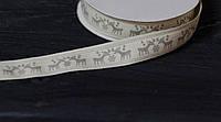 Лента декоративная хб 1,6 см 90 см, фото 1
