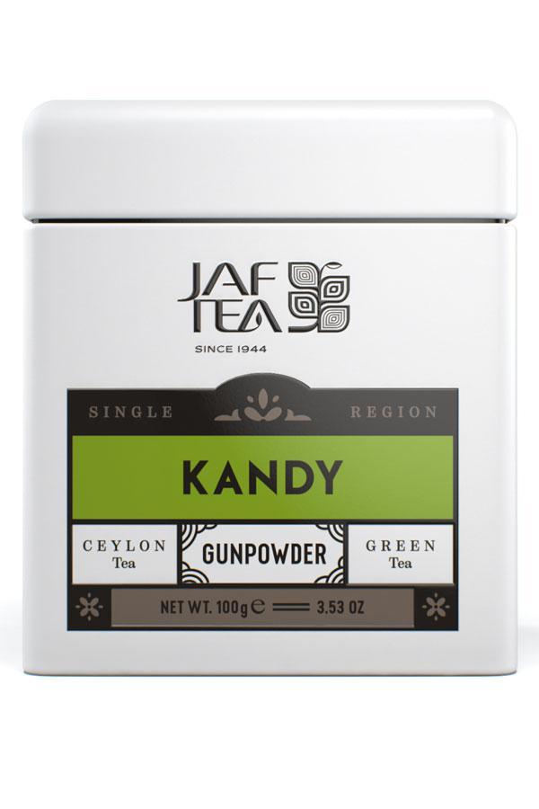 Jaf Tea Single Region KANDY - Gun Powder 100гр. жест.банка