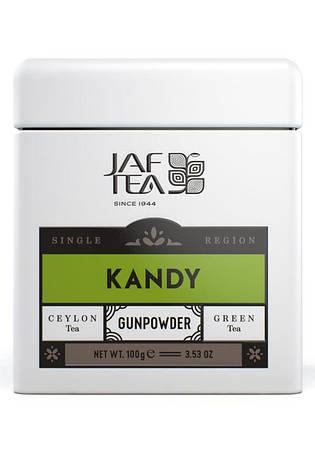 Jaf Tea Single Region KANDY - Gun Powder 100гр. жест.банка, фото 2