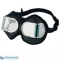 Защитные очки для сварки ЗП-12 кожаные, фото 1