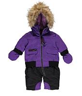 Зимний сдельный комбинезон Canada Weather Gear(США) фиолетовый для девочки 12мес