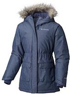 Парка пальто зимнее на девочку Columbia Omni-Heat с системой роста L d85da5d97f852