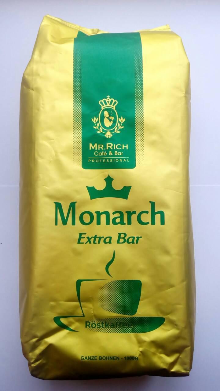 Кофе Mr. Rich Rostkaffee Monarch Extra Bar в зернах 1 кг