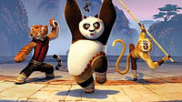"Вафельные картинки ""панда конфу"" А4(код 01262)"