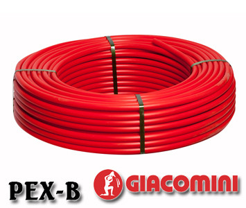 Труба для теплого пола Giacomini PEX-B 16х2 с кислородным барьером