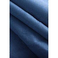 Блекаут Лен софт синий(двухсторонняя)