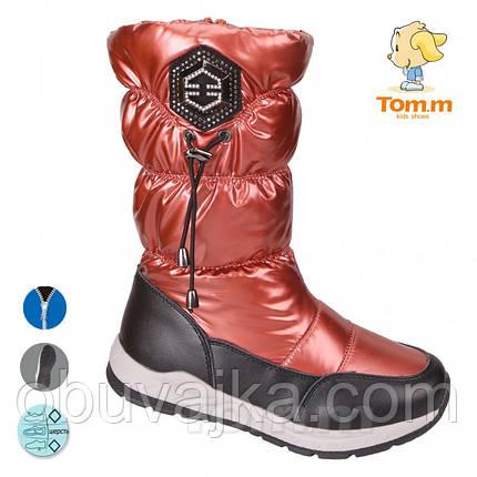 Зимняя обувь Дутики для детей 2019 от фирмы Tom m(33-38), фото 2