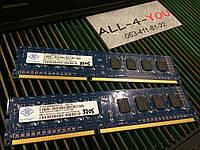 Оперативна пам`ять NANYA DDR3 2GB  PC3 12800U 1600mHz Intel/AMD