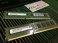 Оперативна пам`ять MICRON DDR3 2GB  PC3 12800U 1600mHz Intel/AMD