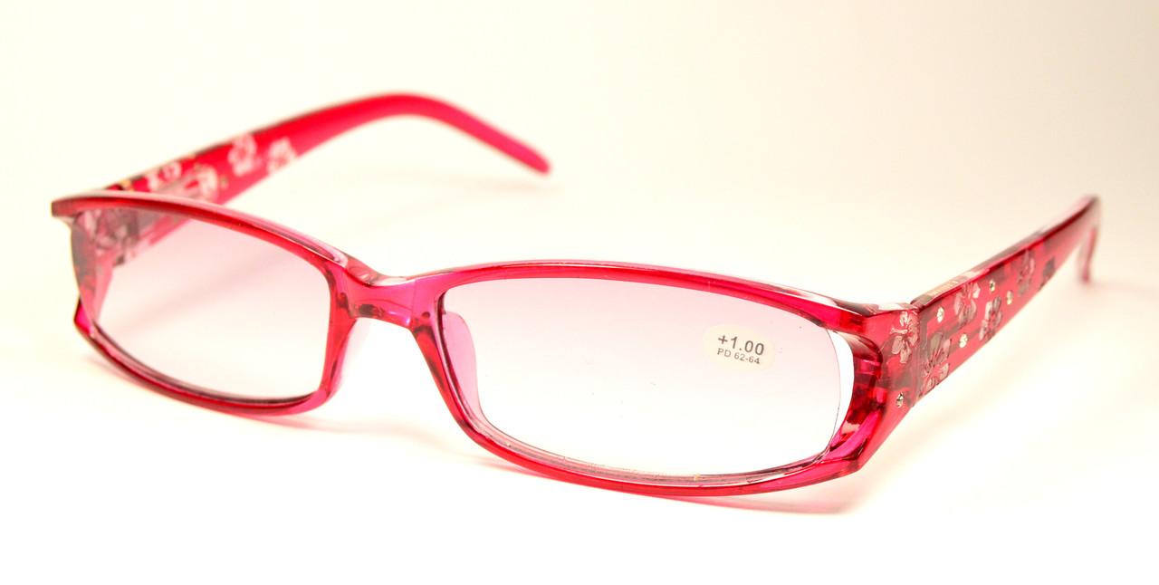 Женские очки с тонированной линзой (8365 тон кр)