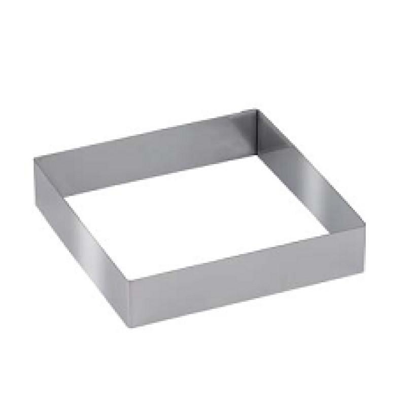 """Металлическая рамка для мармелада """"Квадрат 24*24 см h 4 см"""""""