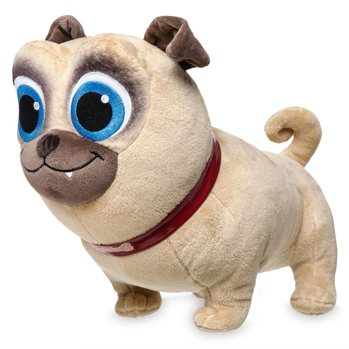 Disney Мягкая игрушка собака Ролли - Дружные Мопсы Дисней
