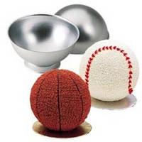 "Форма для выпечки ""Мяч""(код 00384)"