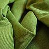 Блекаут Лен софт оливковый  (двухсторонняя)