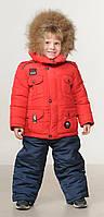 Зимний комбинезон для мальчиков Украина  22-28  красный