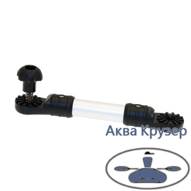 Borika FASTen Ex225 Удлинитель (L= 205 мм) на трубу Ø 25 мм для лодок, цвет черный, серый