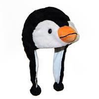 Шапка с ушками Пингвин