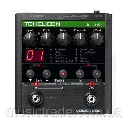 Вокальный мультипроцессор TC-Helicon VoiceTone Double