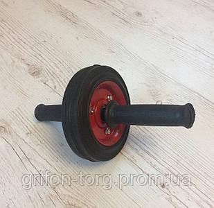 Ролик для пресса, колесо для пресса, металический ролик на подшипнике, роллер, гимнастический ролик для пресса