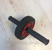 Одинарный ролик для пресса, колесо для пресса, гимнастический ролик для пресса, фото 3