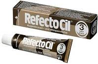 Refectocil Краска для бровей и ресниц коричневая №3, 15 мл