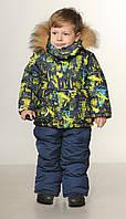 Детский зимний комбинезон на мальчика от производителя   22-28
