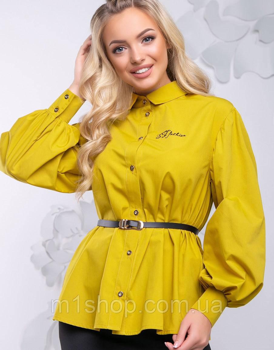 Женская блузка с расширенным рукавом (2725-2729-2728-2727 svt)