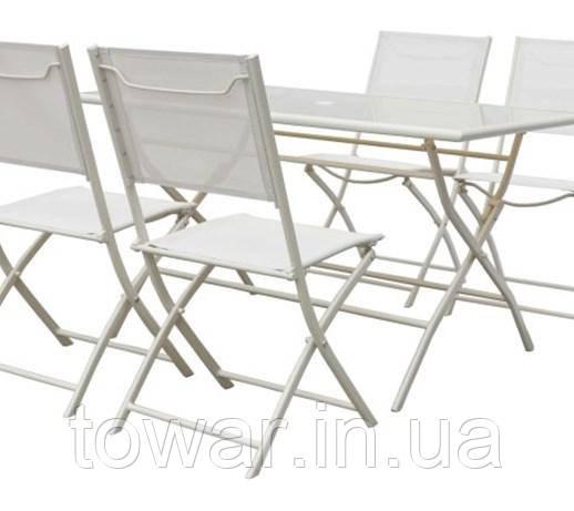 Садовая мебель SIBU стол +4 кресла