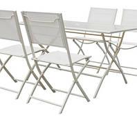Садовая мебель SIBU стол +4 кресла, фото 1