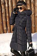 Женская зимняя куртка Альмира, р-ры 50-56, ТМ NUI VERY, Украина, фото 1