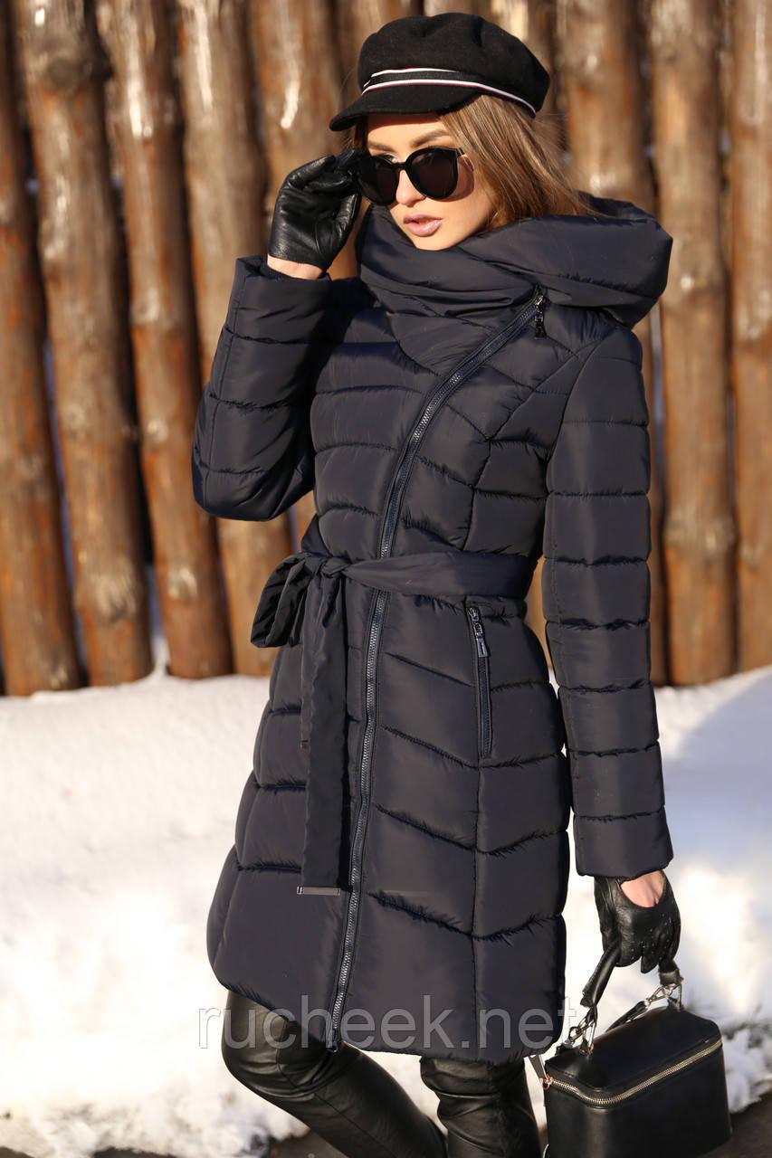 Женская зимняя куртка Альмира, р-ры 50-56, ТМ NUI VERY, Украина
