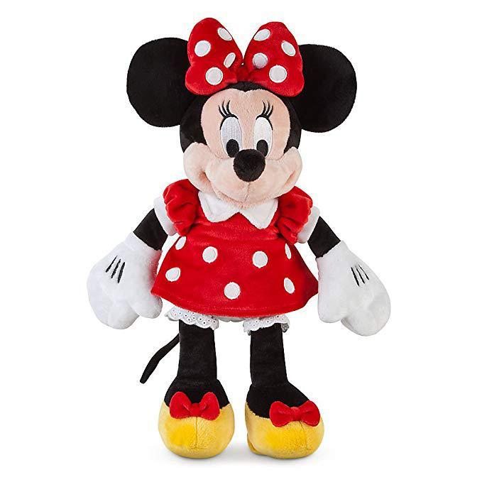 Disney мягкая игрушка Минни Маус Дисней (красное платье) 30см