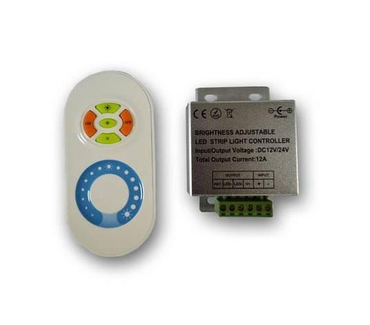 Диммер радио (сенсорный) 12А - белый, фото 2