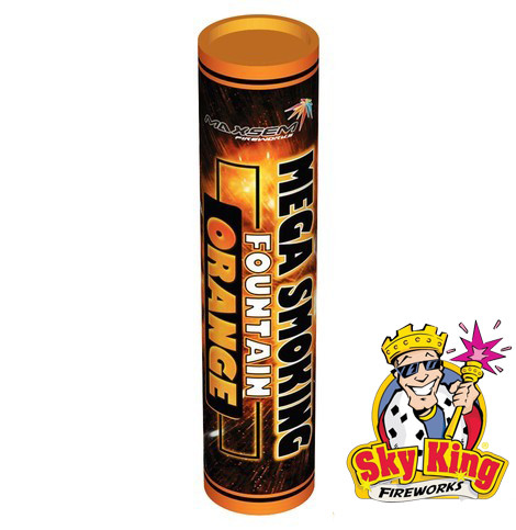 Цветной дым SMOKING оранжевый  50мм 1 шт. MA0514