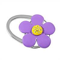 Вешалка для сумки Цветок Фиолетовый (163-13712576)