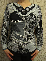 Блузка женская с декоративными камнями пр-ва Польша, 48,50р., фото 1