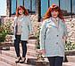 """Женское короткое пальто демисезон в больших размерах """"Букле Овер"""" в расцветках, фото 6"""