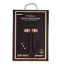 Беспроводные Bluetooth Наушники Remax c гарнитурой для телефона, фото 3