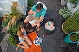 Функціональний садовий бар COOL STOOL гтемно-коричневий (Keter), фото 2