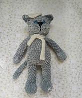 Мягкая вязанная игрушка Кот, фото 1