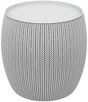Столик KNIT COZIES TABLE сірий, фото 1