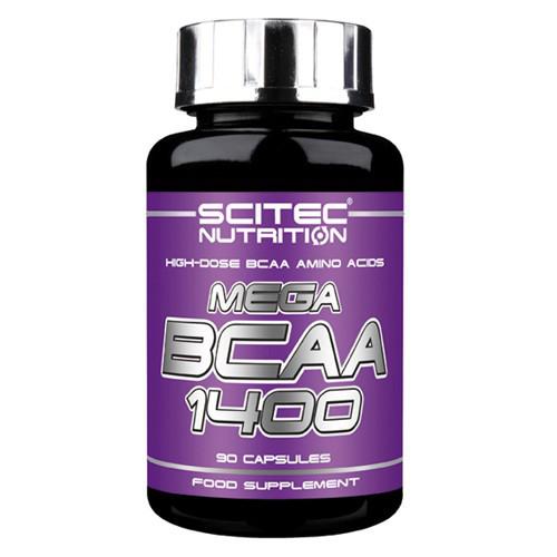 Scitec Nutrition BCAA Mega 1400 (90 капс.)