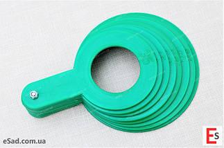 Пластиковий комплект для калібровки фруктів, 8 шт діаметр від 35 до 70 мм, фото 2