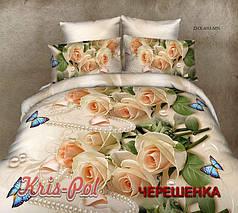 Семейный набор 3D постельного белья из Полиэстера №85693 KRISPOL™