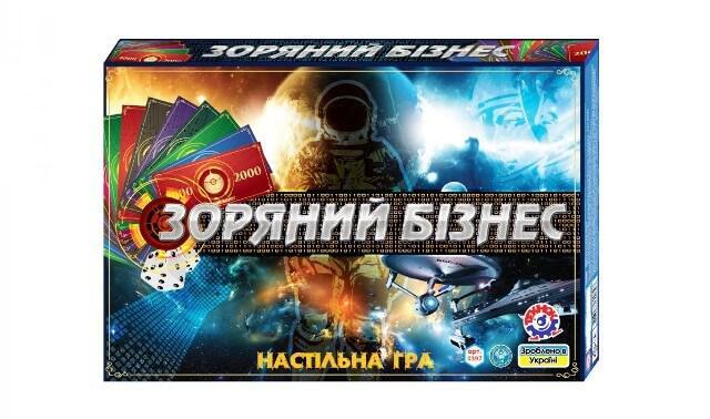 Настольная игра Звездный бизнес 0397 ТехноК