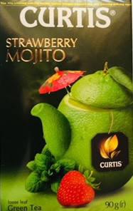 Чай зеленый Strawberry Mojito Curtis , 90 гр, фото 2